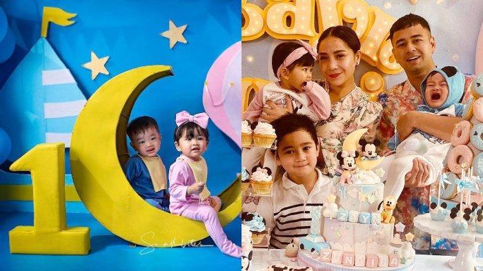 Ucapkan Selamat Ulang Tahun untuk Anak Kembar Syahnaz Sadiqah, Raffi Ahmad: Kadonya Mobil Aja Ya?