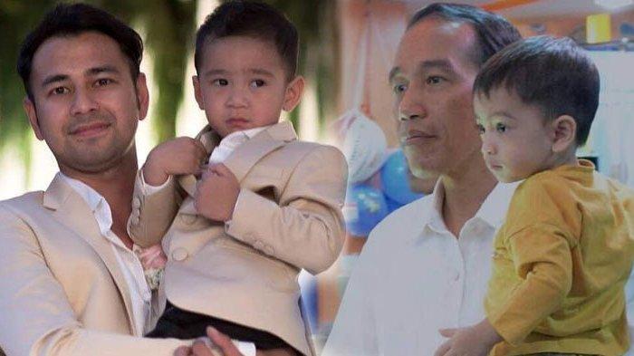 Raffi Ahmad Ingin Pertemukan Rafathar dengan Jan Ethes, Presiden Jokowi Beri Reaksi Tak Terduga