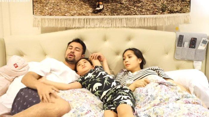 Raffi Ahmad, Rafathar Malik Ahmad, dan Nagita Slavina curhat terpapar Covid-19.