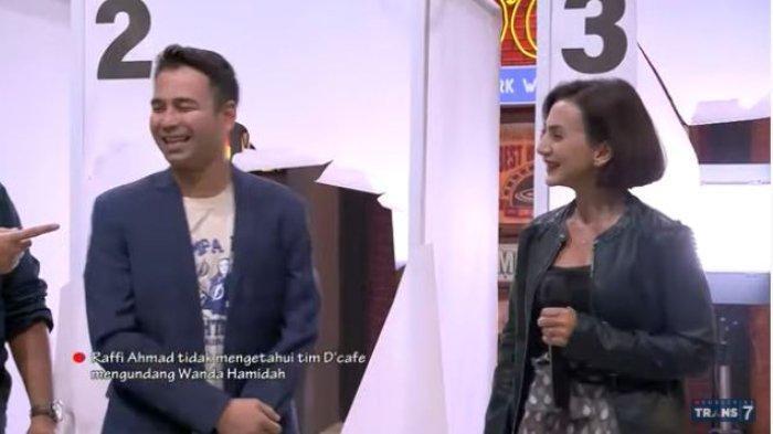 Raffi Ahmad salah tingkah ketemu Wanda Hamidah.