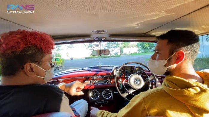 Raffi Ahmad tawar mobil Uya Kuya