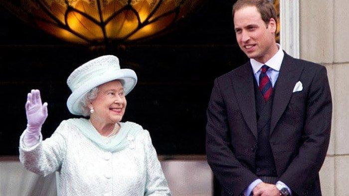 Ratu Elizabeth dan Pangeran William