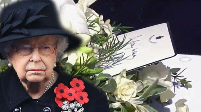 Lepas Kepergian Pangeran Philip, Ratu Elizabeth II Selipkan Catatan Kecil di Peti Mati, Apa Isinya?