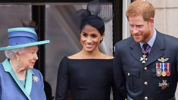 Sempat Geger, Ratu Elizabeth Tanggapi Tuduhan Rasisme Meghan Markle & Pangeran Harry, Mengaku Sedih!