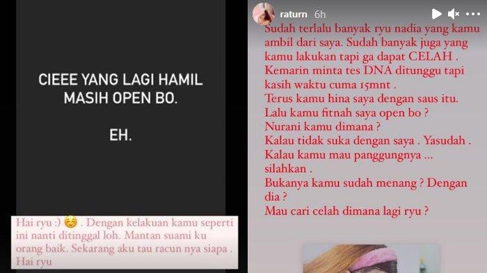 Ratu Rizky Nabila dituding Open BO oleh Nadia Christina istri baru dari Alfath Fathier.