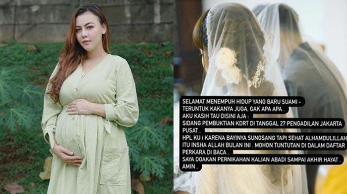Tengah Hamil & Belum Resmi Cerai, Ratu Rizky Nabila Legowo Ditinggal Alfath Fathier Nikah Lagi