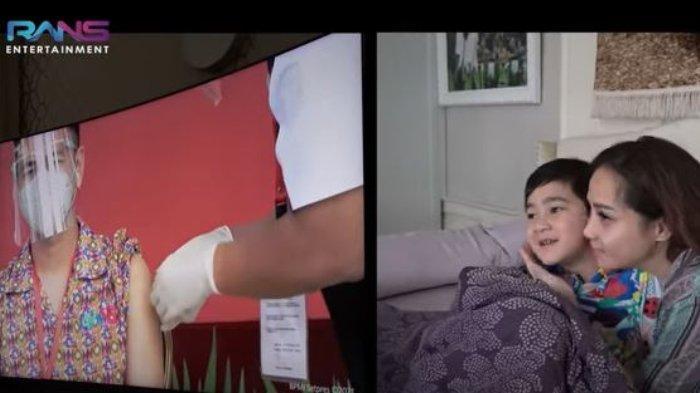 Nagita Slavina Deg-degan Lihat Raffi Ahmad Disuntik Vaksin Covid-19, Juga Ingin Divaksin: 'Maulah'