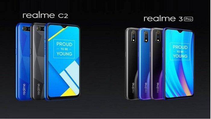 Harga dan Spesifikasi Oppo Realme 3 Pro dan Realme C2, Sukses Saingi Xiaomi Redmi 7 dan Redmi Note 7