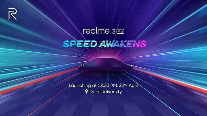 Realme 3 Pro, Rilis 22 April.