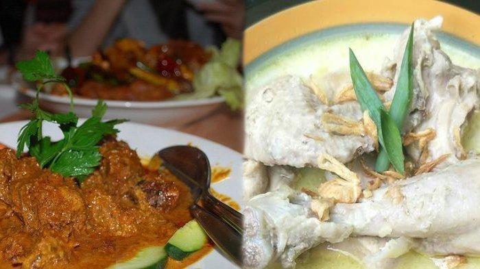 Rendang dan Opor Ayam