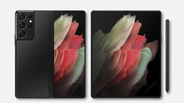 Render Samsung Galaxy Z Fold 3