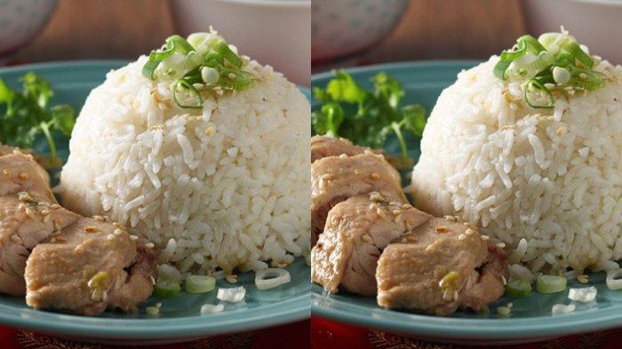 RESEP Masakan Rumahan, Buat Makan Malam Pakai Nasi Hainam, Bisa Bikin Pakai Rice Cooker