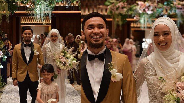 Intip Suasana Resepsi Pernikahan Lindswell Kwok dan Achmad Hulaefi, Tampil Anggun dengan Gaun Putih!