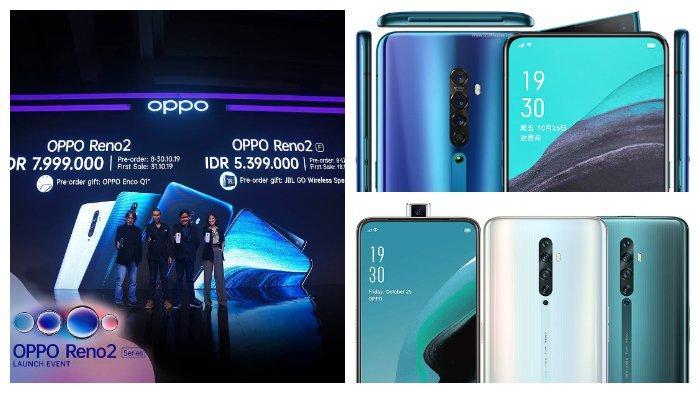 Resmi Meluncur, Simak Spesifikasi & Harga Oppo Reno2, dan Reno2 F, 4 Kamera Belakang & Pop-up Selfie
