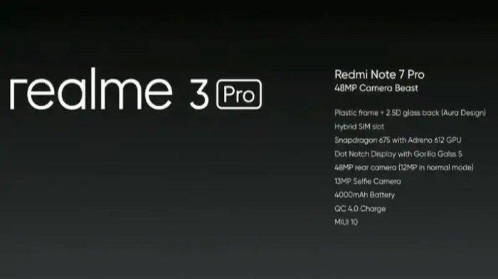 Resmi rilis hari ini, bandingkan Realme 3 Pro vs Xiaomi Redmi Note 7.
