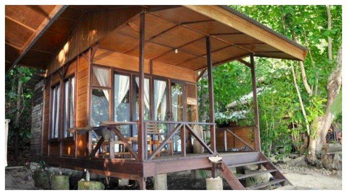 Resort milik Nadine Chandrawinata.