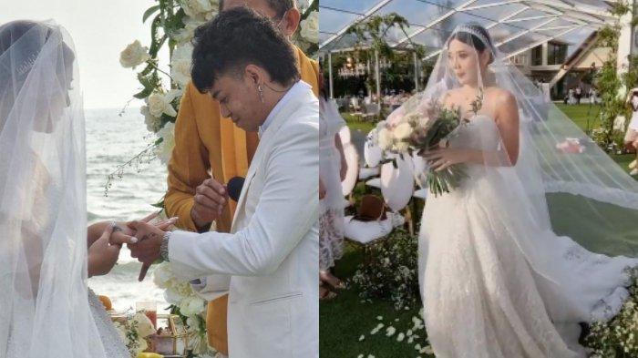Reza Arap dan Wendy Walters menikah.