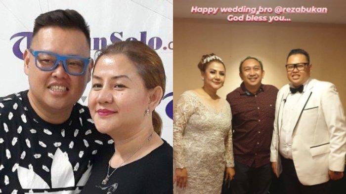 Resmi Menikah, Potret Bahagia Reza Bukan dan Pendeta Diungkap Augie Fantinus, Serasi Berbusana Putih