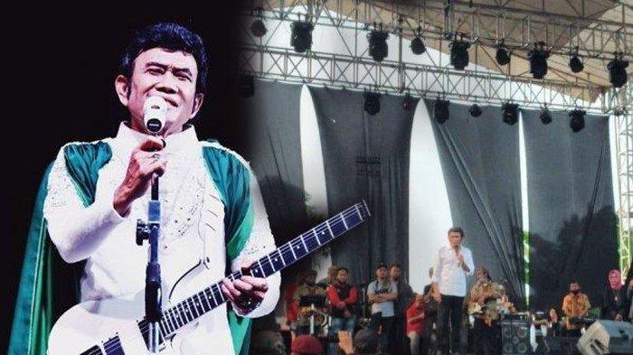Heboh Rhoma Irama Manggung Bikin Geram Bupati Bogor, Bukan Konser, Hanya Sumbang Lagu