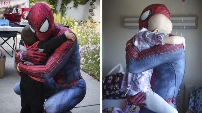4 Tahun Nganggur, Pria Ini Malah Jadi Spiderman Temui 10.000 Anak: Ada Sukacita di Tengah Rasa Sakit