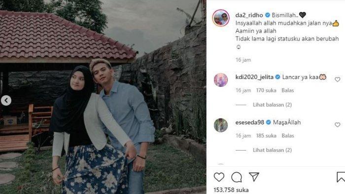 Ridho DA akan segera menikah.