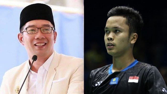 Susul Greysia Polii, Anthony Ginting Sumbang Medali Kelima untuk Indonesia, Ridwan Kamil Beri Hadiah
