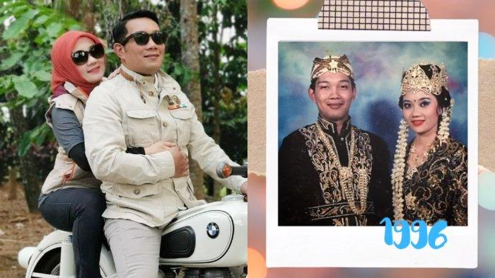 Ulang Tahun Pernikahan, Ridwan Kamil Ngaku Kalahkan 41 Pria: Endingnya Saya Berhasil Bawa ke KUA