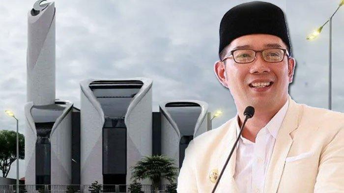 Dirancang Oleh Ridwan Kamil, Desain Masjid Mirip PS5 Ini Miliki Makna yang Dalam, Ini Penjelasannya