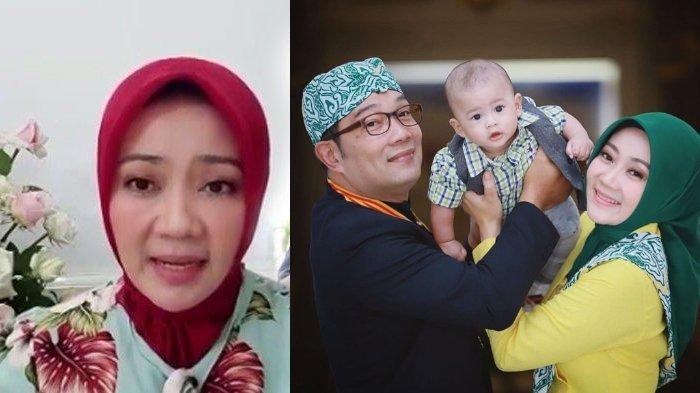 Gendong Putra Bungsu saat Peringati Hari Kartini, Ridwan Kamil: Ada yang Rindu, 4 Hari Belum Memeluk