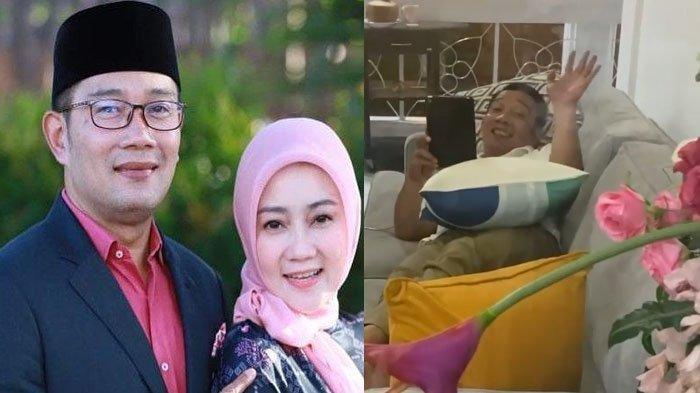 VIDEO Gubernur Ridwan Kamil Setia Tunggu Istri di Ruang Isolasi Covid, Atalia Kamil 'Doakan Aku Ya'