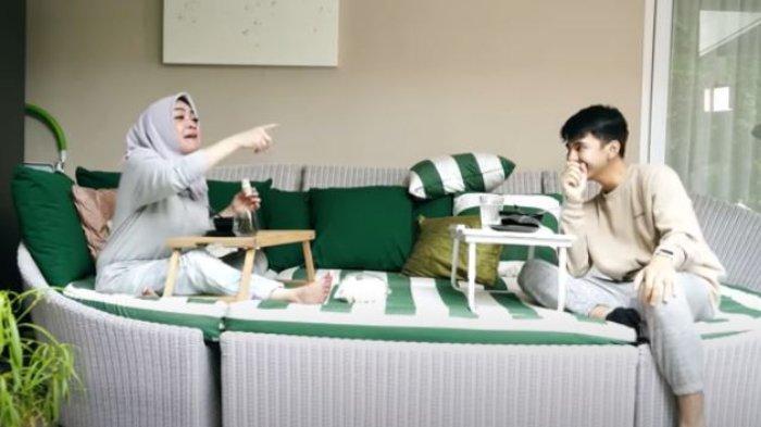 Rieta Amilia dan Dimas Ramadhan
