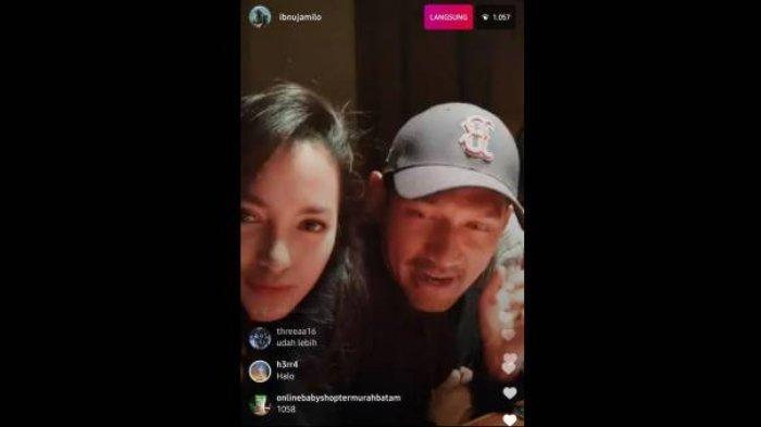 Ririn Ekawati dan Ibnu Jamil live Instagram
