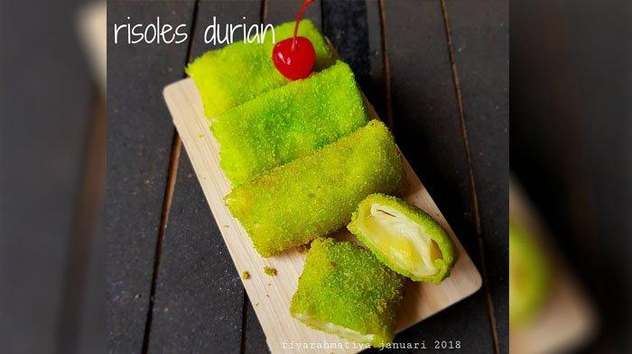 3 RESEP Membuat Camilan Risoles di Rumah, Masak Risoles Durian, Jamur Sayur, Udang