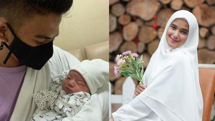 Rizki D'Academy dan Nadya Mustika dikarunia buah hati pertama.