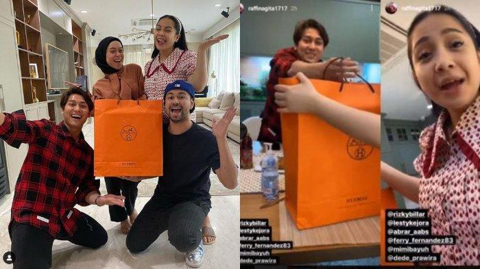 Tak Hadir di Pernikahan Rizky Billar dan Lesti, Raffi Ahmad Kaget dapat Hadiah Mewah dari Leslar