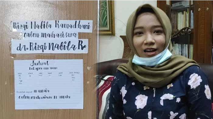 VIRAL Gadis 15 Tahun Asal Ponorogo, Rizqi Nabila, Jadi Mahasiswa Termuda Fakultas Kedokteran Unair