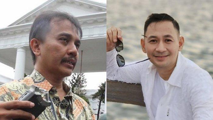Berseteru, Roy Suryo Tak Tahu Lucky Alamsyah Artis: Mohon Maaf Saya Gak Pernah Nonton Sinetronnya