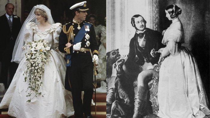 Dari generasi ke generasi, Kerajaan Inggris tidak pernah gagal menggelar pernikahan yang mempesona.