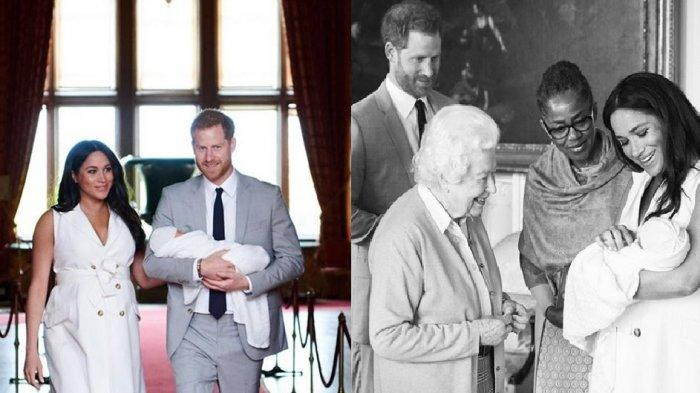 Pangeran Harry dan Meghan Markle akhirnya umumkan nama anak pertama mereka (Instagram @sussexroyal)