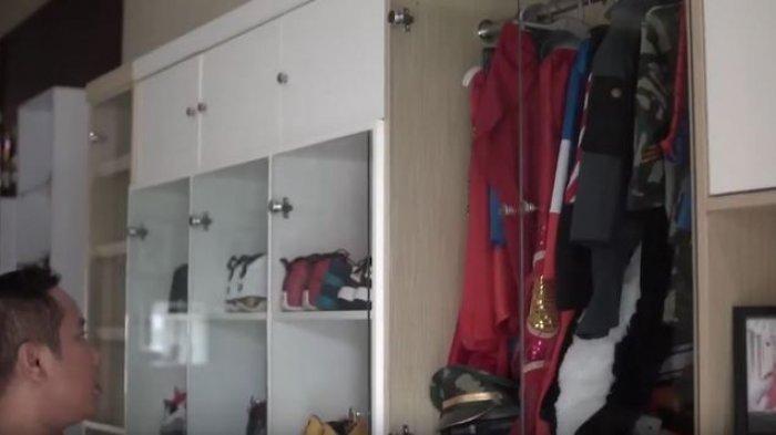 Ruang khusus untuk barang koleksi Narji