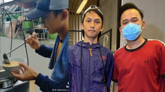 POPULER Perjuangan Jejen Penjual Bakso Lulus SD Lanjut Pesantren, Bahagia Ketemu Ruben Onsu