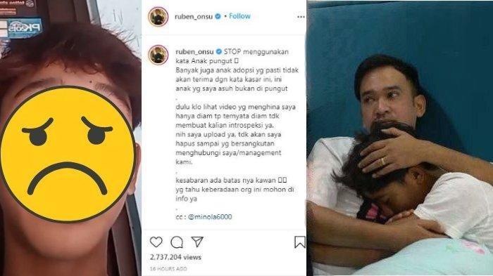 SAKIT HATI Betrand Peto Dihina Anak Pungut, Ruben Ngamuk: Gak Ada Ampun, Minta Maaf Sama Tuhan Aja!