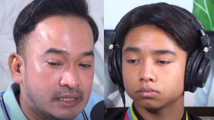 Nangis saat Bacakan Pesan Menyentuh untuk Betrand Peto, Ruben Onsu: Papa & Mama Kandungmu yang Utama