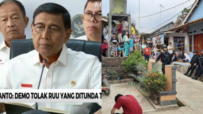 Pelaku Penusukan Menkopolhukam Wiranto Terungkap, Suami Istri, Pedagang Online - Kontrak Rumah