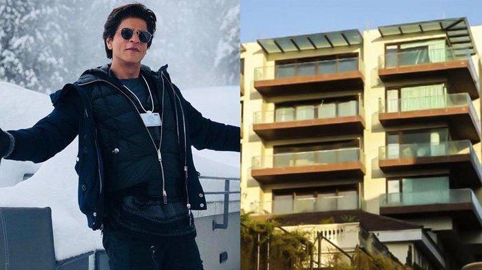 Jarang Terekspos, Begini Potret Rumah Mewah Shah Rukh Khan, Bak Istana!