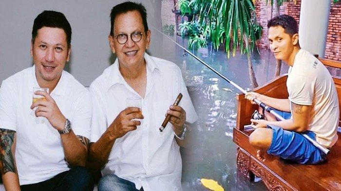 Rumah Roy Marten Kebanjiran, Gading Marten Tertawa, Sang Adik Pilih Mancing: Kolam Pribadi Gue Ini