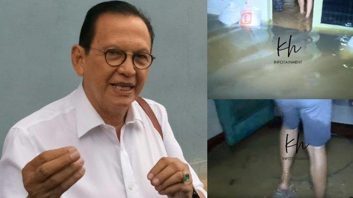 Rumah Roy Marten Kembali Terendam Banjir, Ayah Gading Marten Santai: 'Menggerutu Nggak Ada Gunanya'