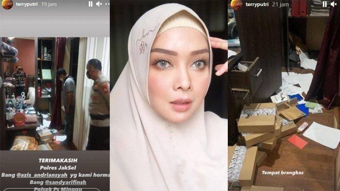 5 Fakta Terry Putri Kemalingan, Kronologi hingga Daftar Kerugian, Berlian Senilai Rp 350 Juta Raib