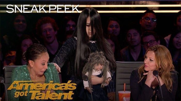 Teman Imajinasi The Sacred Riana Ajak Mel B Bermain di Ajang America's Got Talent, Juri Ketakutan