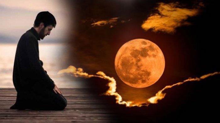 Cara Sholat Gerhana Bulan, Super Blood Moon Terjadi Hari Ini, 26 Mei 2021, Berikut Waktu Terjadinya